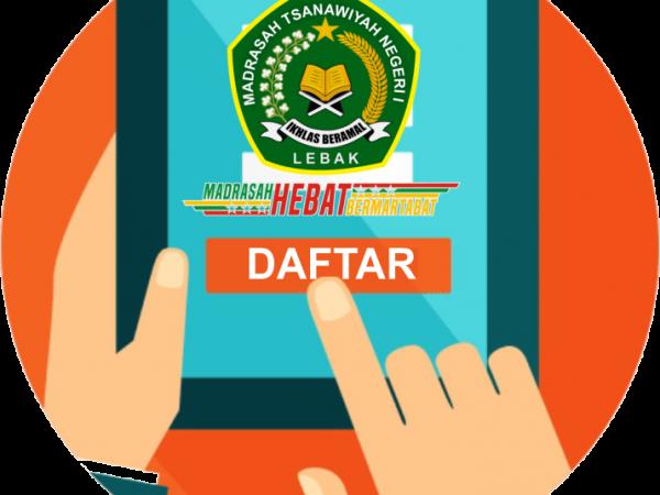 Data Pendaftar PPDB MTs Negeri 1 Lebak