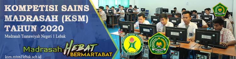 Kompetisi Sains Madrasah (KSM) 2020