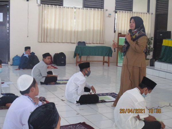 Rohis MTs Negeri 1 Lebak Sukseskan Sanlat Ramadhan 1442 H